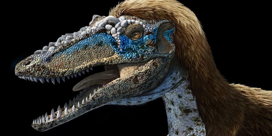 New Stars in the Dinosaur World, PM Magazin April 2015. Art by Román García Mora.