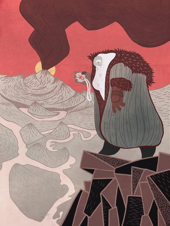 SOMNIUM, illustrated eBook. In the land of Duracotus. Art by Román García Mora.