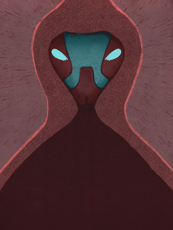 SOMNIUM, illustrated eBook. Demon of Levania. Art by Román García Mora.