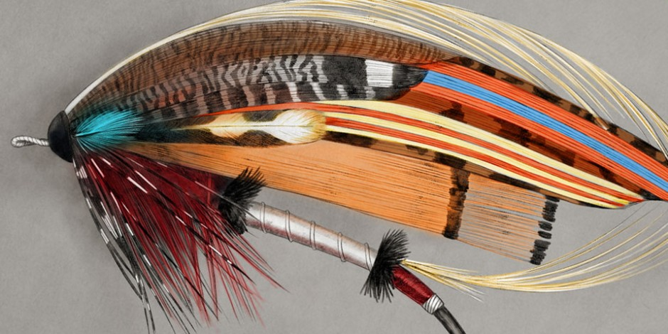 Fly Fishing Projects. Art by Román García Mora.